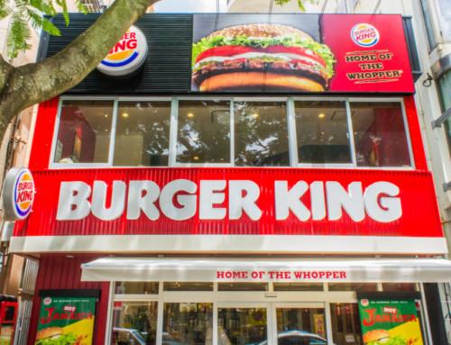 店舗撮影 BURGER KING 沖縄1号店 創作や