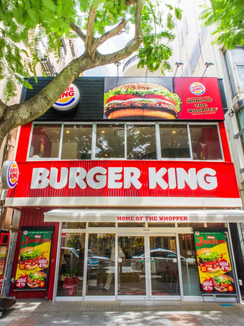 BURGER KING 店舗撮影
