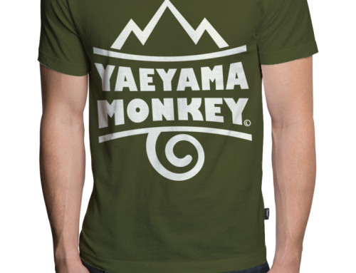 バンドTシャツデザイン 八重山モンキー