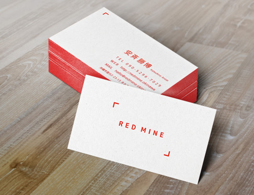 ロゴ&名刺デザイン RED MINE
