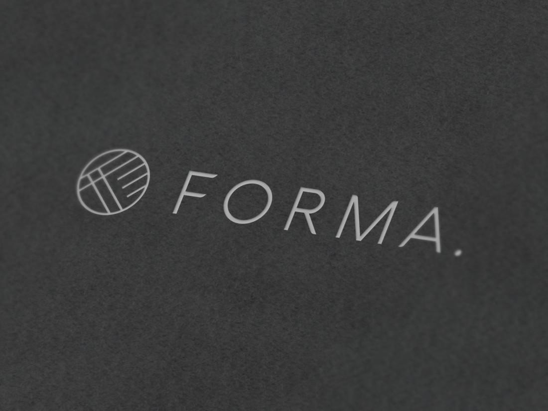 FORMA。ロゴデザイン