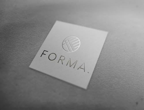 コーポレートロゴデザイン:FORMA。