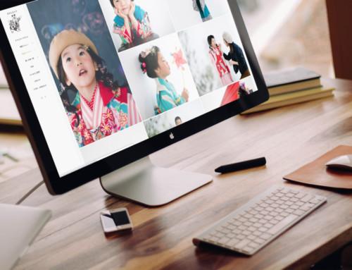 Webサイト制作:家族写真スタジオ「きりんカメラ」