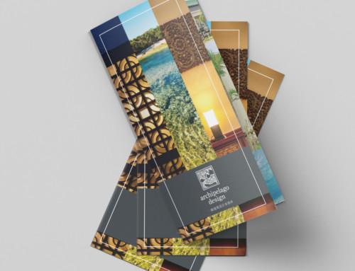 展示用リーフレット・パネル制作:株式会社アーキペラゴ デザイン