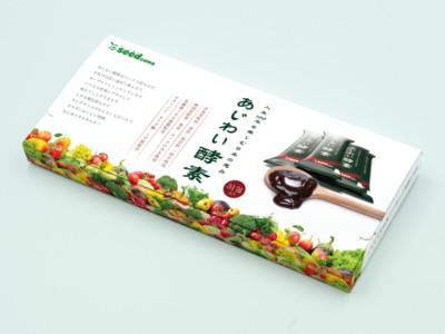 サプリメント あじわい酵素 パッケージデザイン