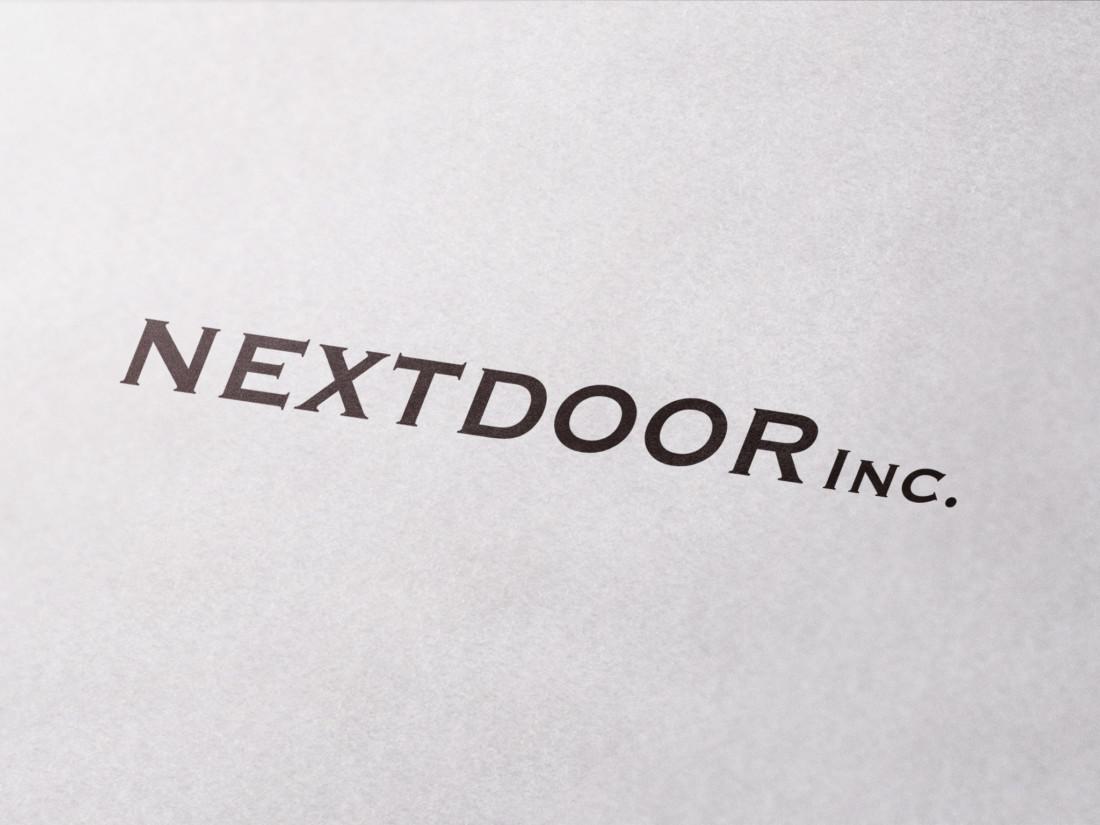 株式会社ネクストドア ロゴデザイン
