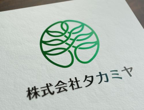 コーポレートロゴデザイン&名刺制作:株式会社タカミヤ