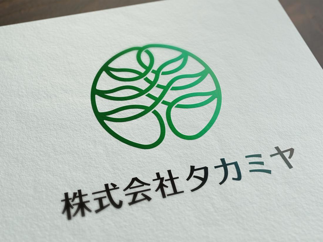 株式会社タカミヤ コーポレートロゴデザイン