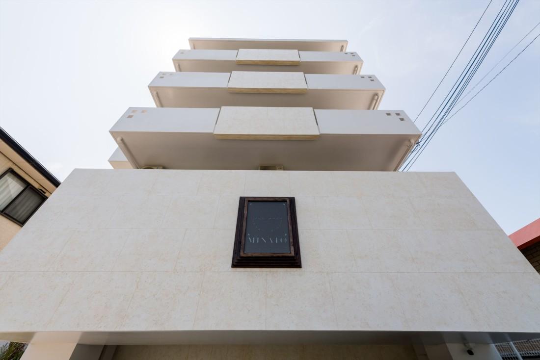 minato chatan seaside condominium ロゴデザイン